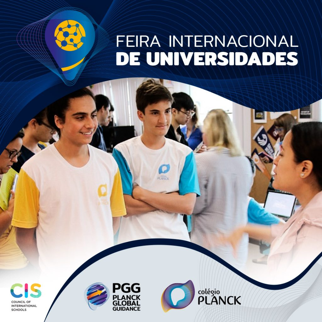 Planck sedia Feira Internacional de Universidades
