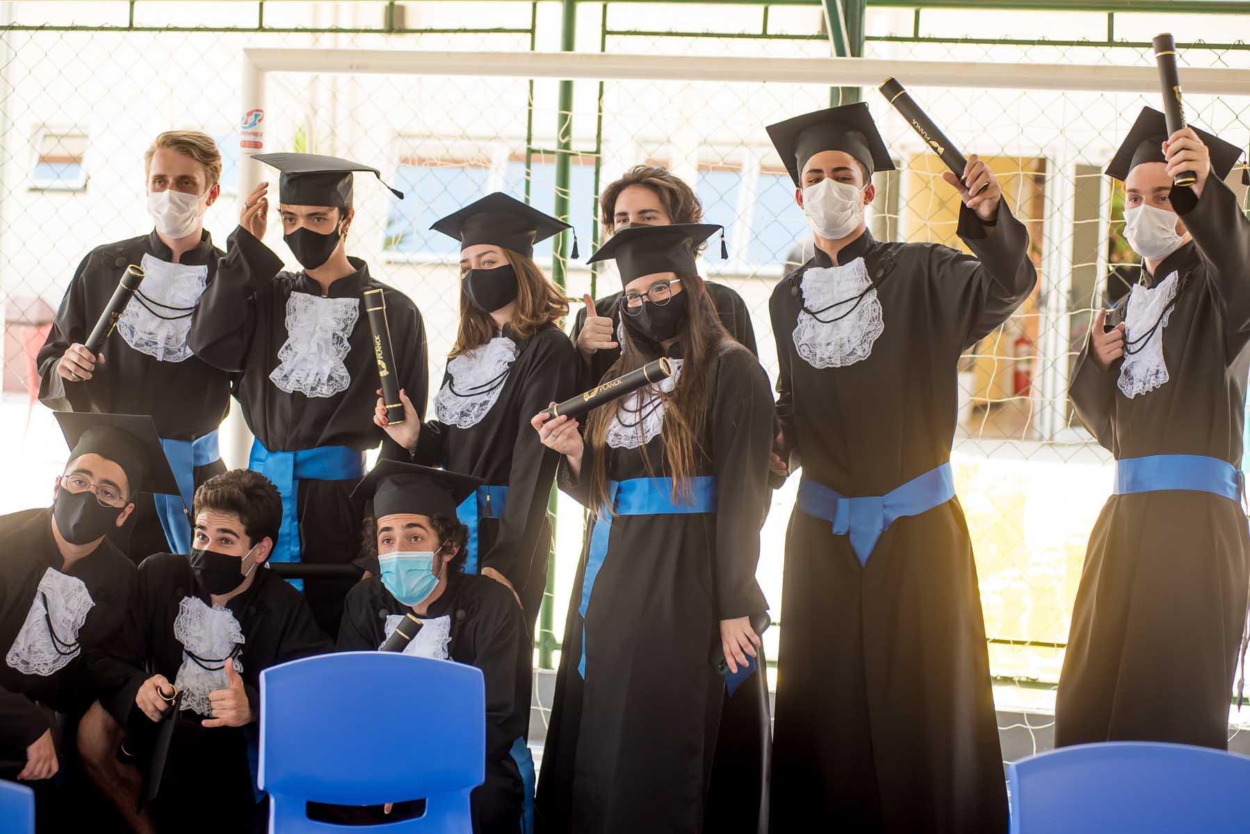 Colégio Planck - Formatura dos alunos do Terceiro Ano em 2020